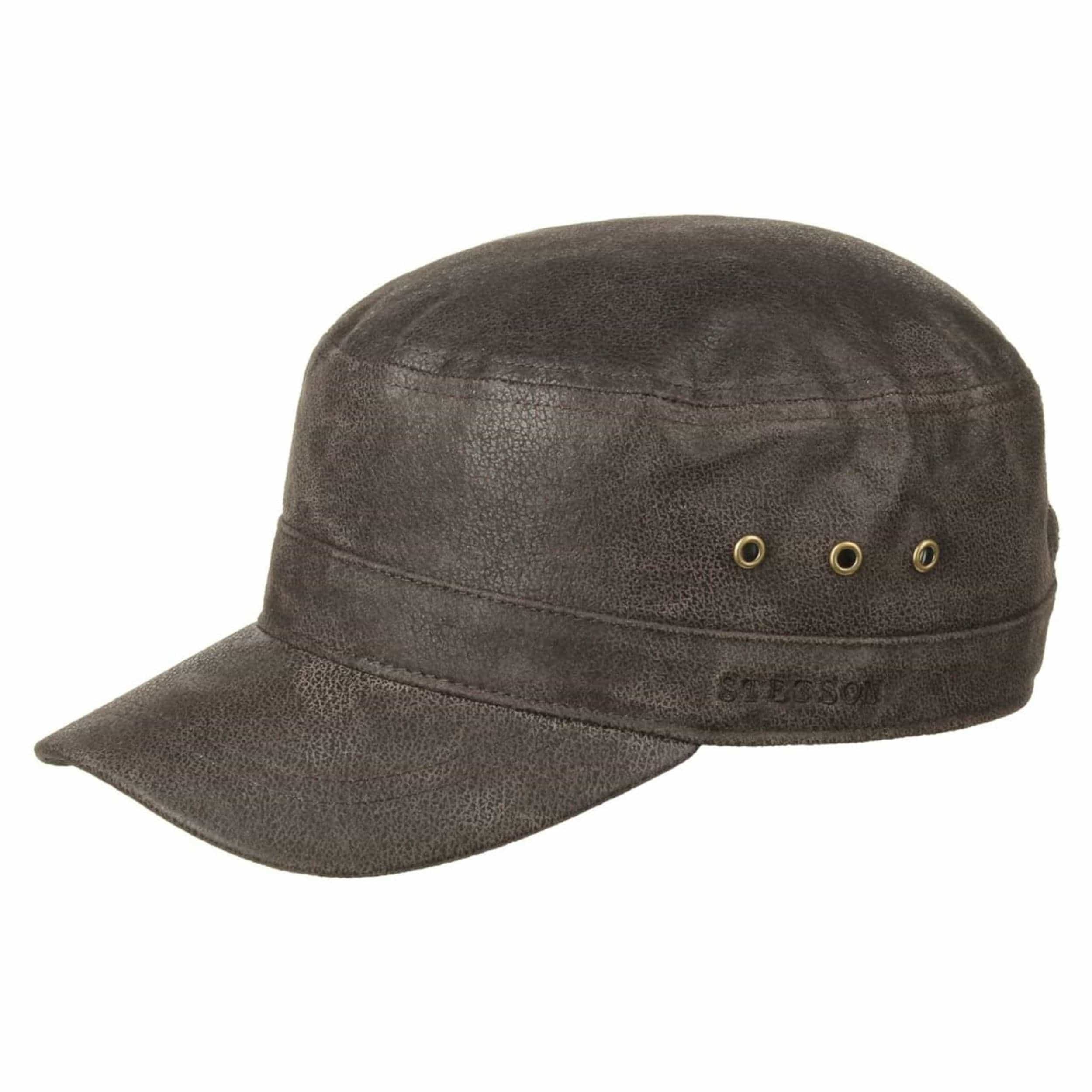 Alpha Distressed Cap by Stetson, GBP 59,00 --> Hats, caps ...