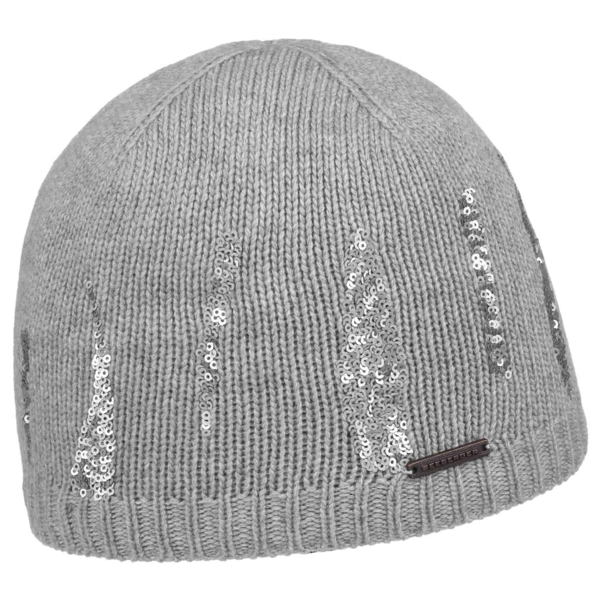 Lustrini Beanie with Sequins by Seeberger