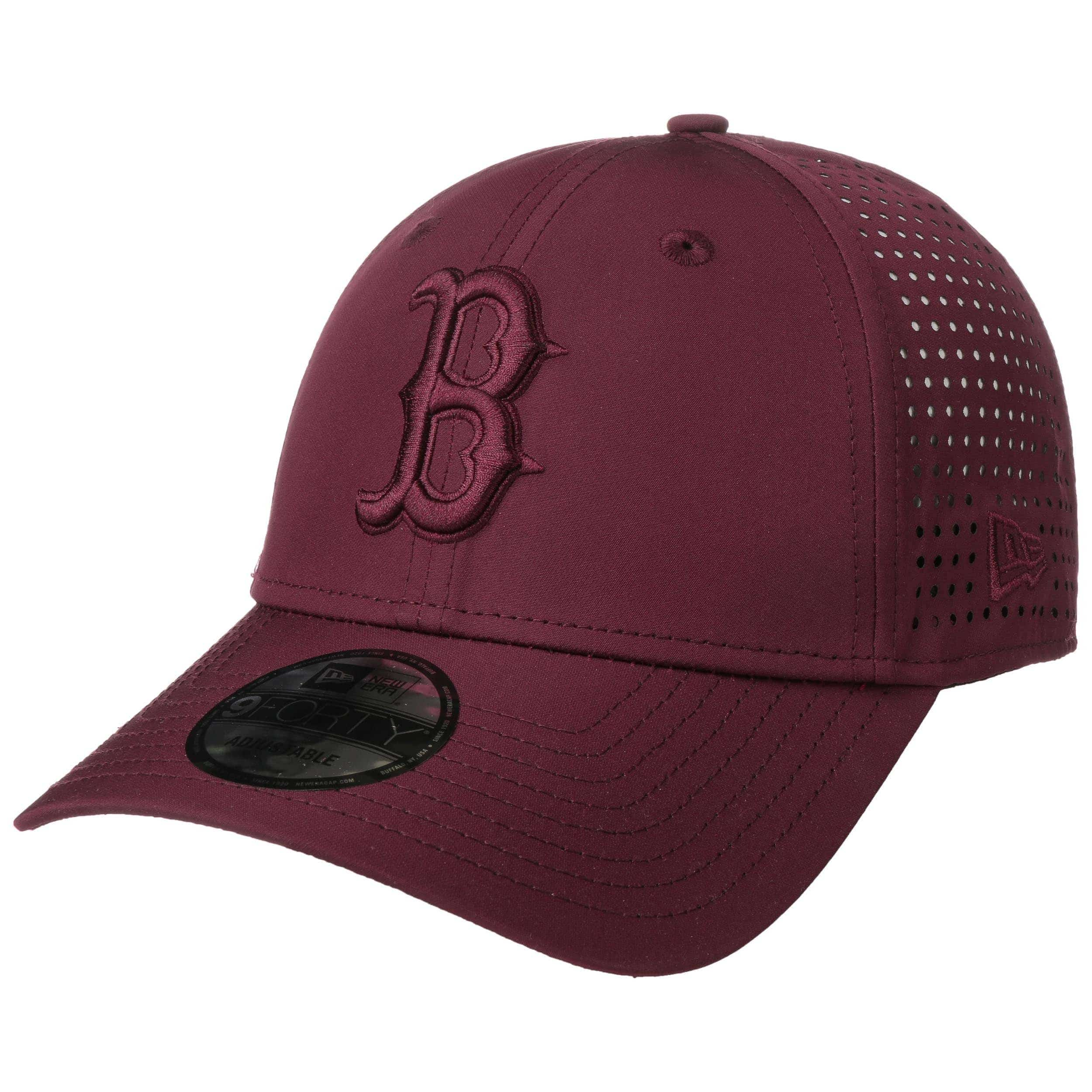 New Era Feather Perf 9Forty Cap ~ Boston Red Sox