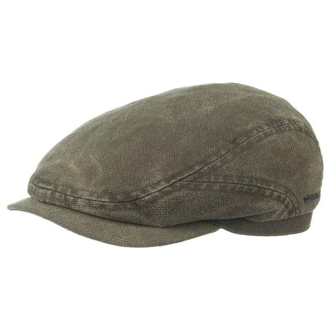 c88876ec9f1 Belfast Cotton Flat Cap. by Stetson