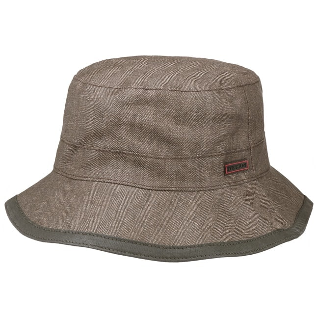 Coated Linen Cloth Hat. by Stetson e92c4032a22