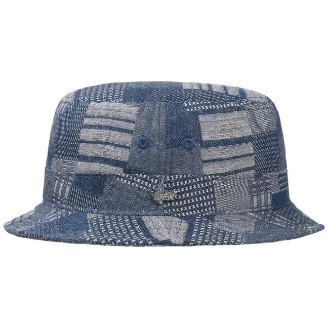 e768c8e0b32 Denim Patchwork Bucket Hat by Stetson