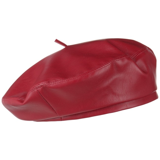 79066ccd0c3cf Faux Leather Beret by Lipodo - 18,95 £