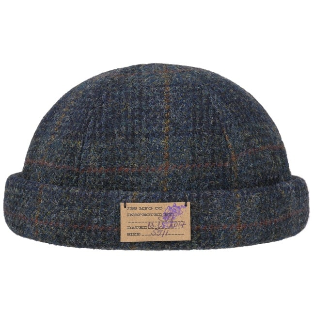 7a0e8badc61 Harris Tweed Vangordon Docker Hat by Stetson
