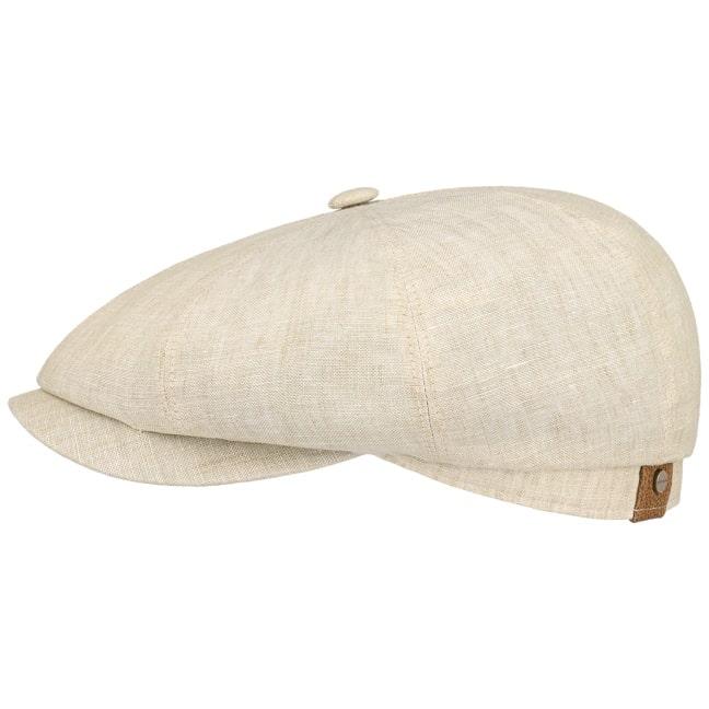 a62bf363 Hatteras Linen Newsboy Cap by Stetson - 59,00 £