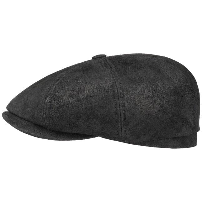 45c8c53aff21f Hatteras Pigskin Leather Cap by Stetson