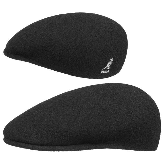Kangol Wool 504 Flatcap Black Wool Hat Cap Pepe Kangol Cap Kangol Cap New d07dd61bb723