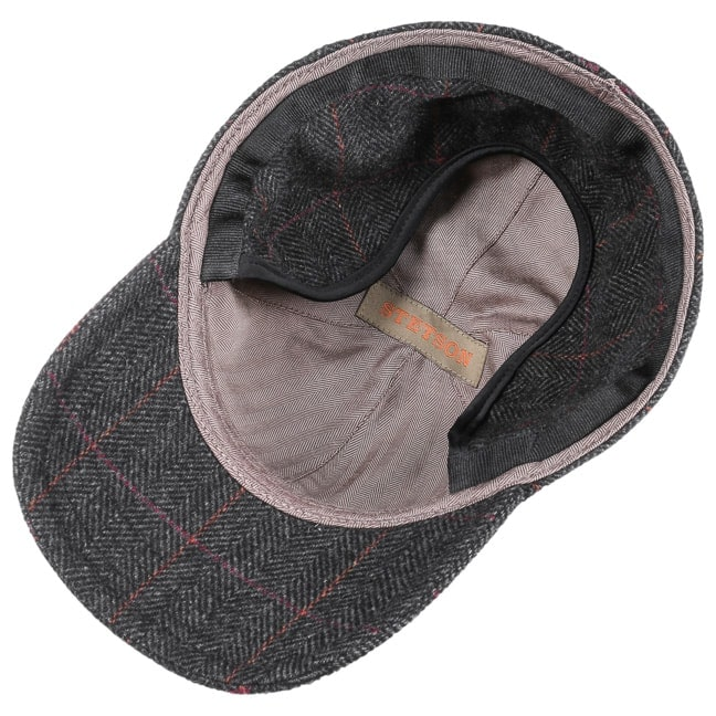 b3acd8d82627a Kinty Wool Cap with Ear Flaps by Stetson - grey 1 ...