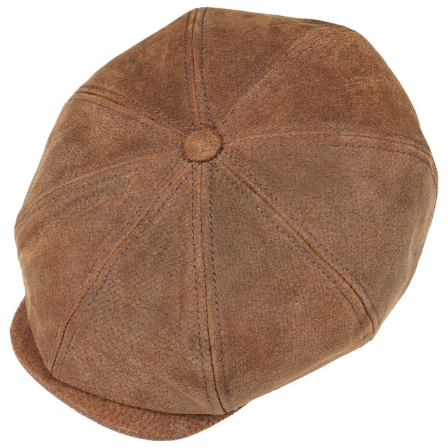 1a691b66a185e Leather Burney Hatteras by Stetson 360° View