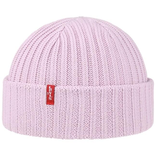 Ribbed Cotton Beanie Hat by Levi´s 3e41ba7d3a3d