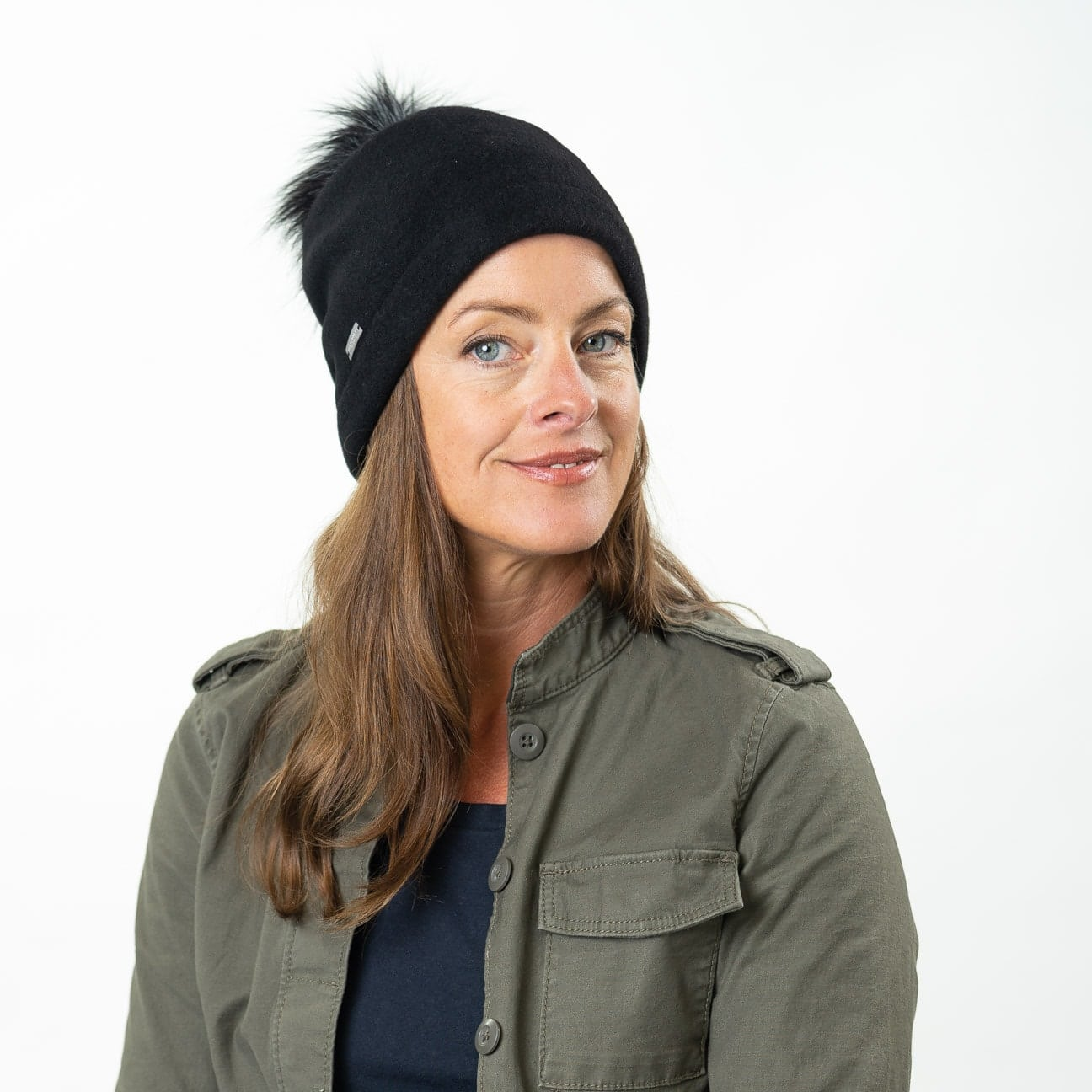 9124251a8e1 Tamisa Milled Wool Hat by Seeberger 360° View