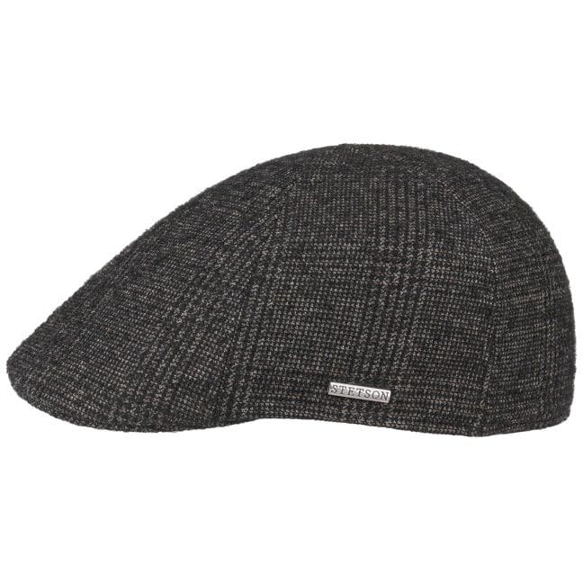 7d03bbbff1a76 Texas Wool Bouclé Flat Cap by Stetson