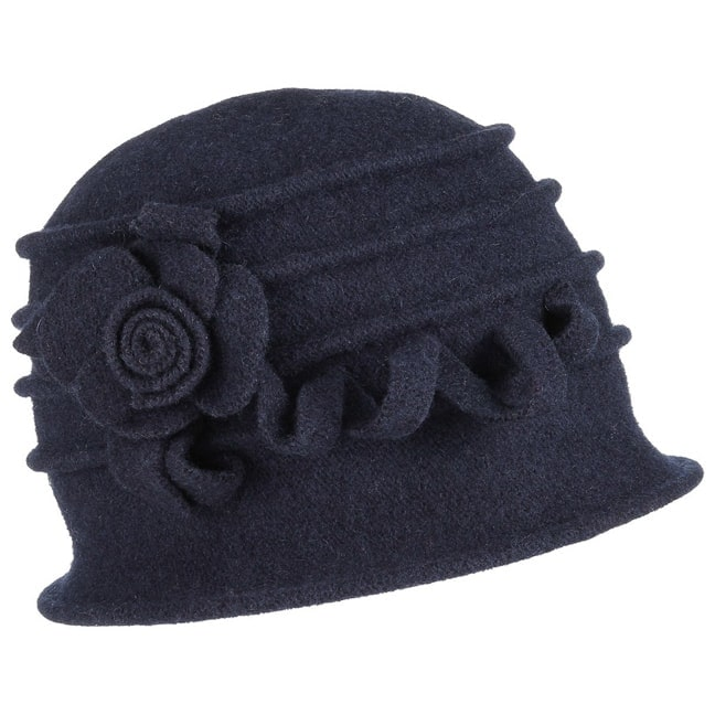 4c1a38888f46f Wool Felt Cloche. by McBURN